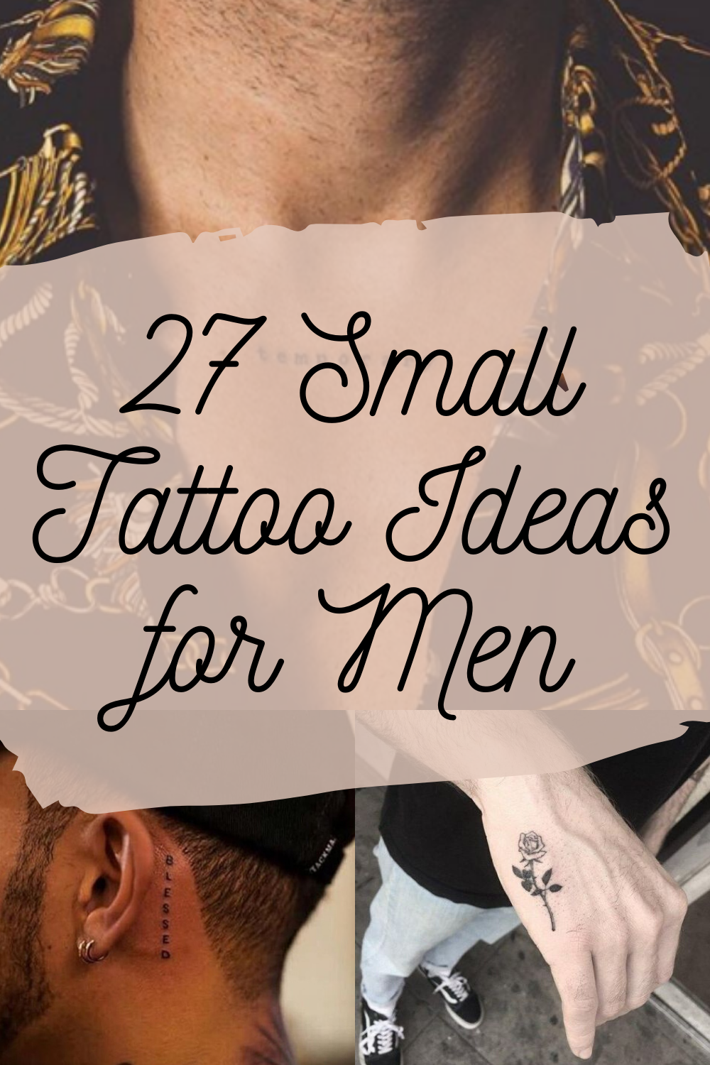 Small Tattoo Ideas for Men