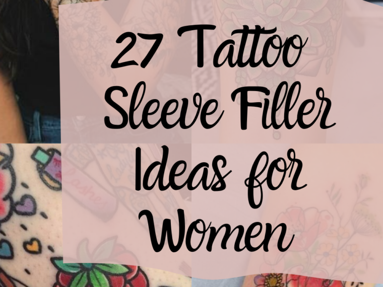 Tattoo Sleeve Filler Ideas for Women