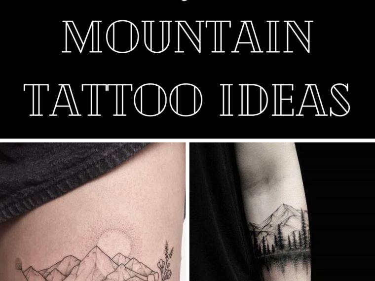 Mountain tattoo ideas