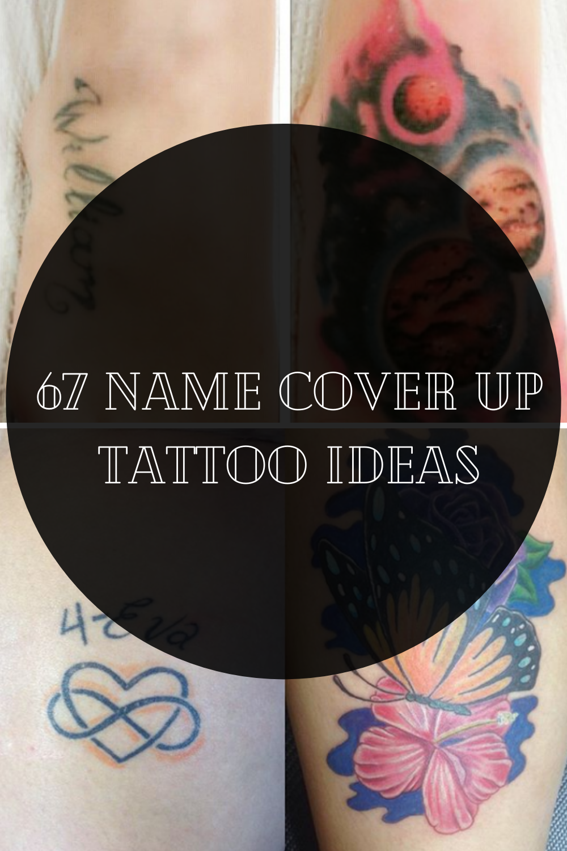 20 Name Cover Up Tattoo Ideas   TattooGlee