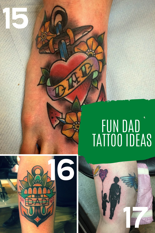 Father Tattoo Ideas
