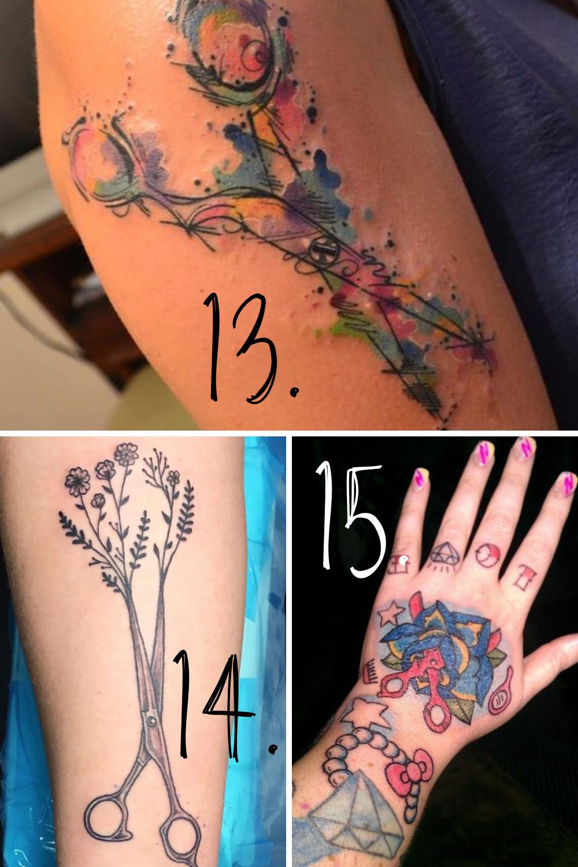 Scissor tatto ideas