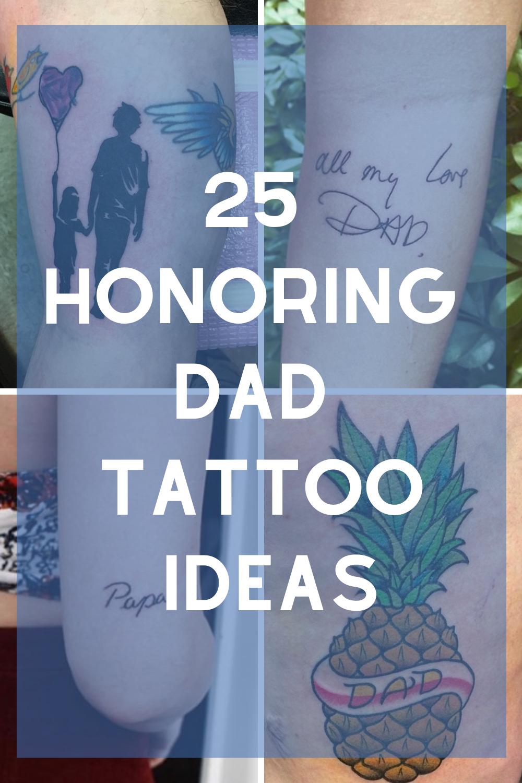 Dad Tattoo Ideas