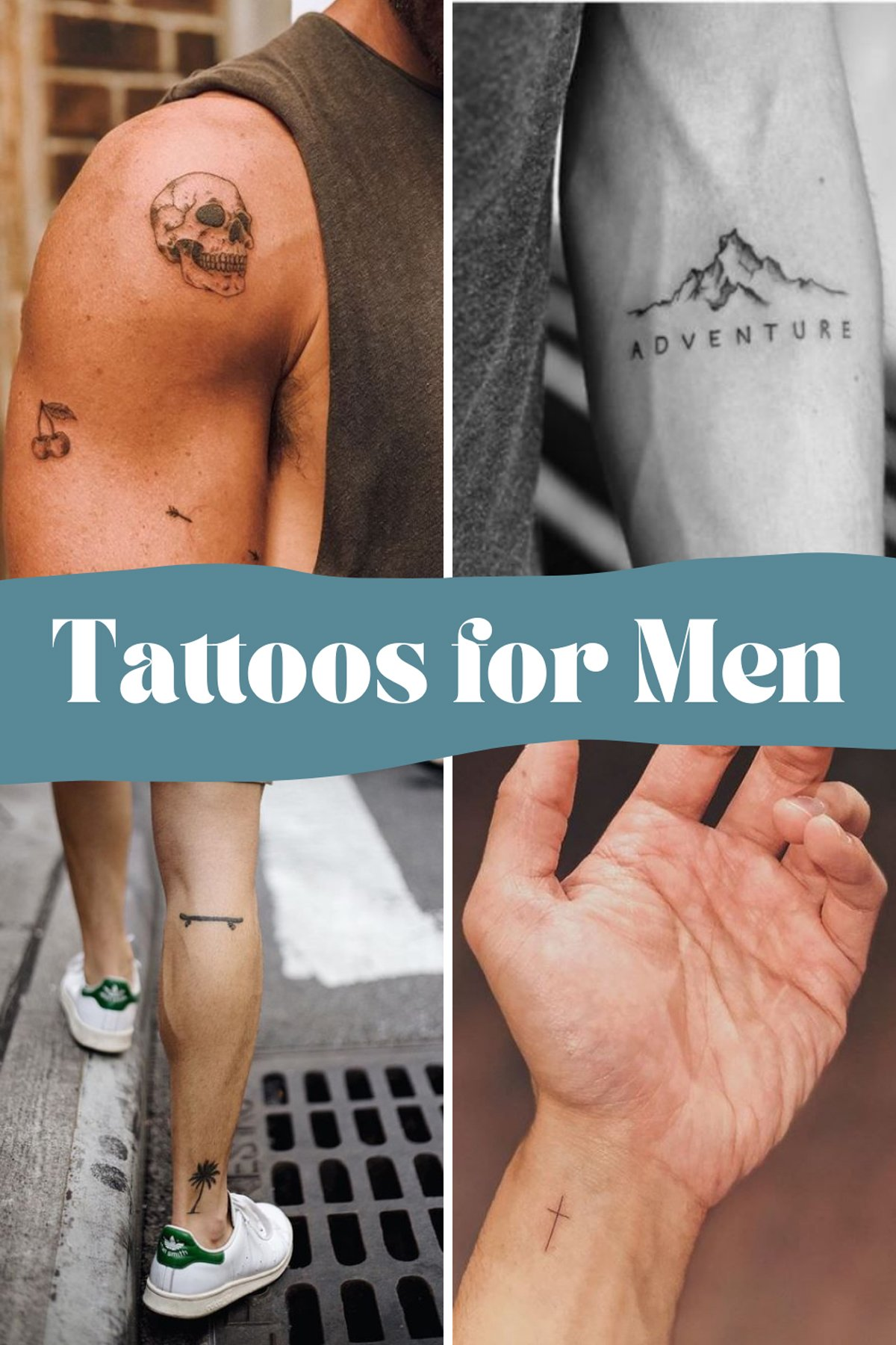 Small tattoos for guys