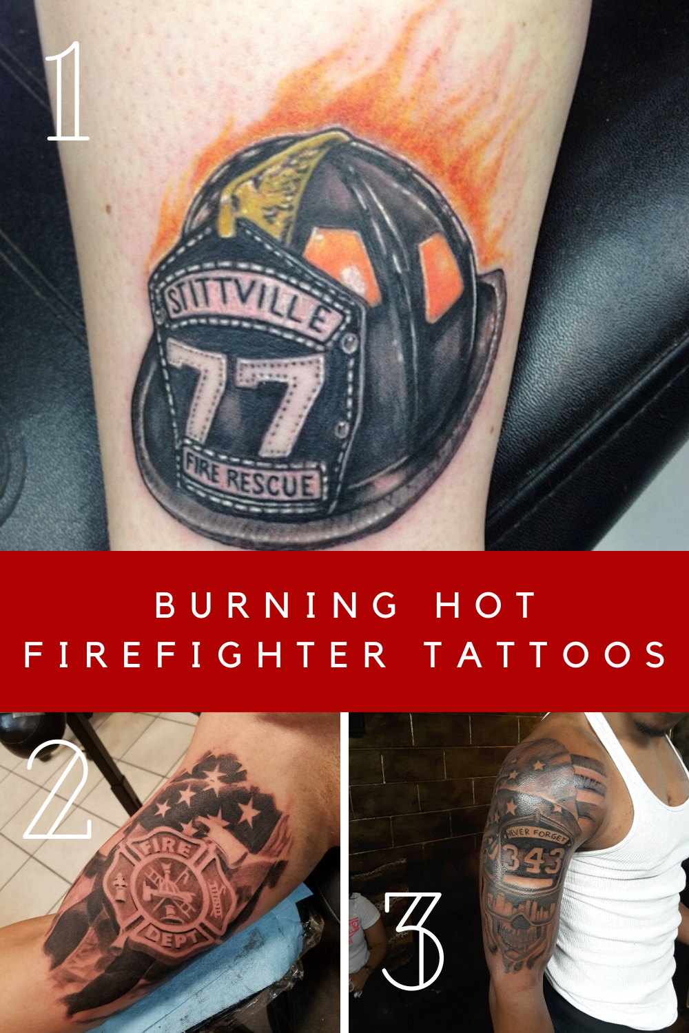 Firefigther Tattoos