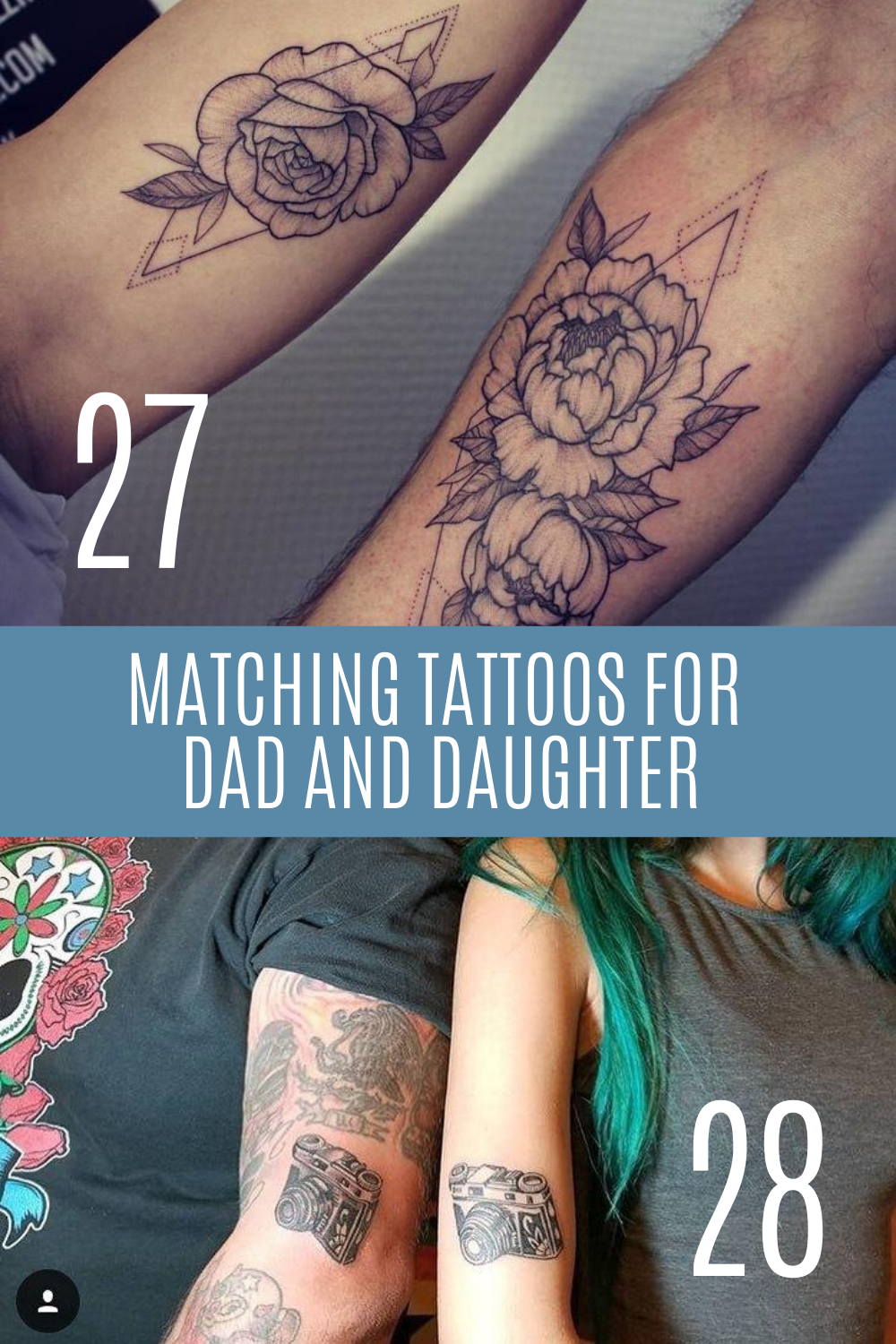Father Daughter Tattoo Ideas