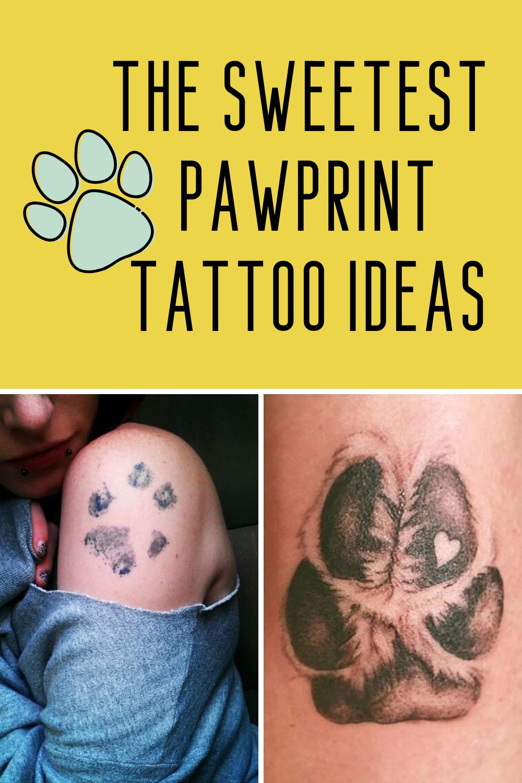 pawprint tattoo ideas