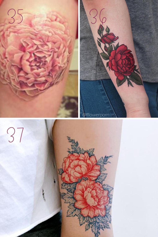 Large Flower Tattoos