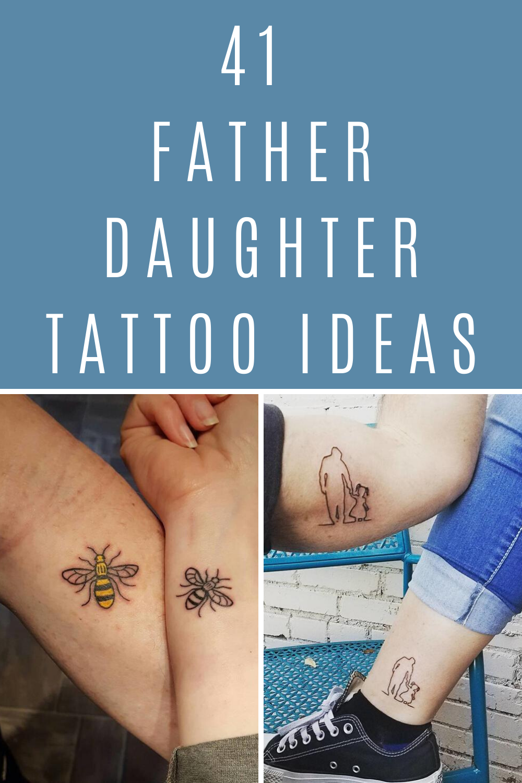 20 Father Daughter Tattoo Ideas   TattooGlee