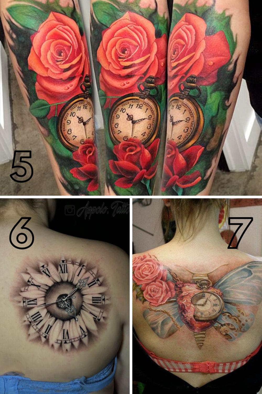 Clock tattoo Ideas