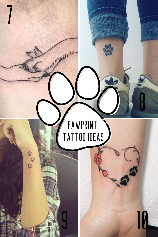 Paw Tattoo Ideas