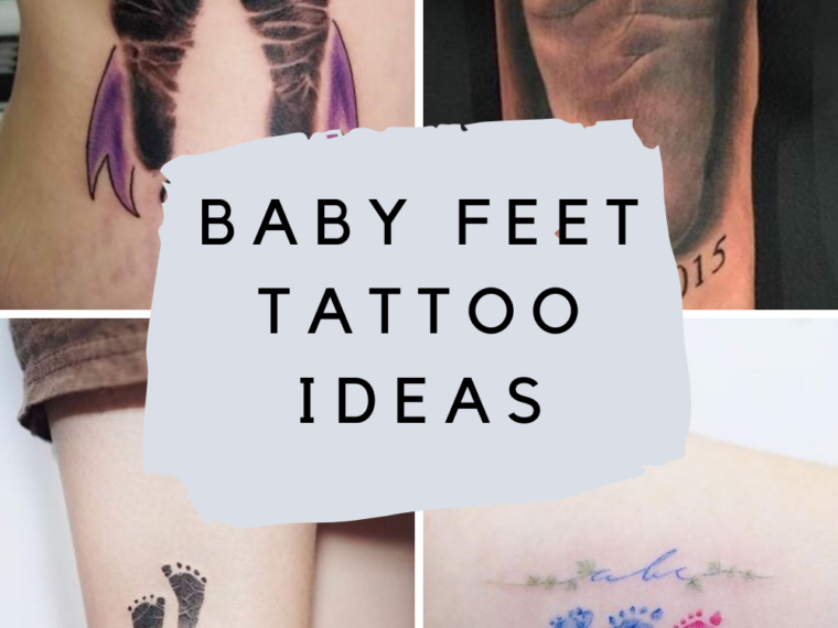 Baby foot tattoos
