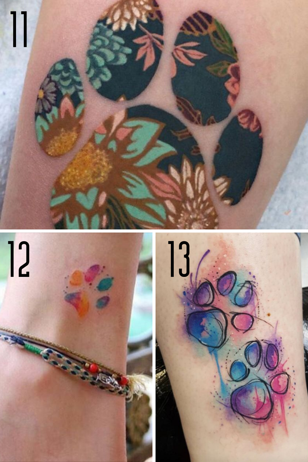 Colorful Ink Ideas