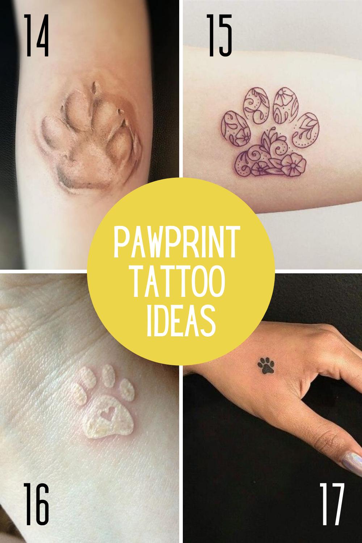 Pawprint Tattoos