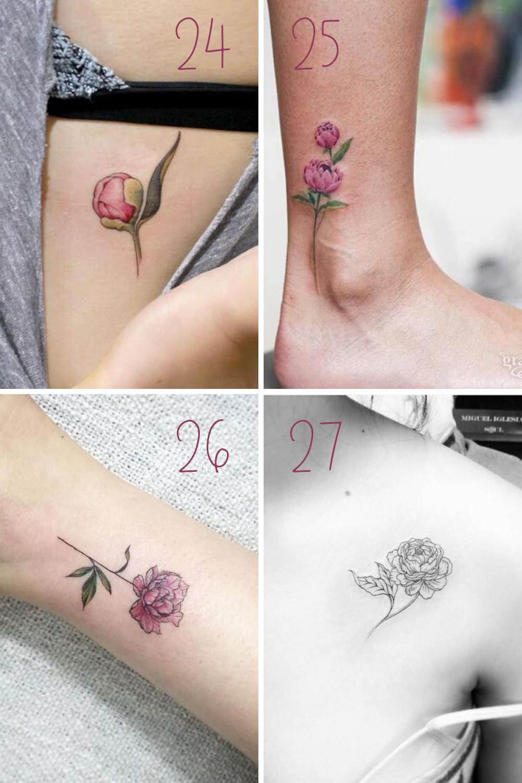 Peony tattoo Ideas