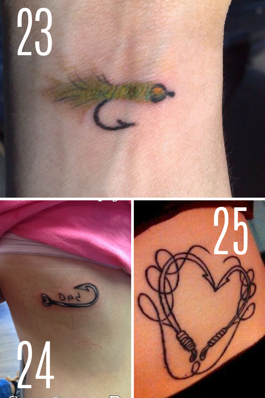 Fishing Fly Tattoos