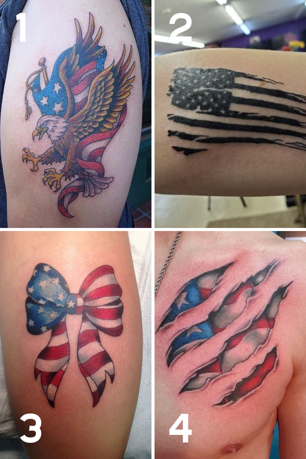Flag Tattoo Ideas