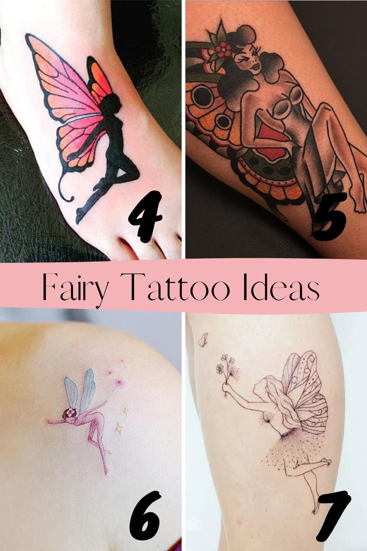 Fairy Tattoo Ideas