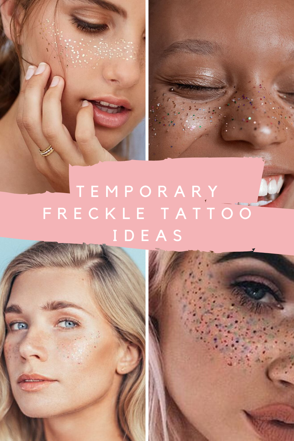 temporary freckles