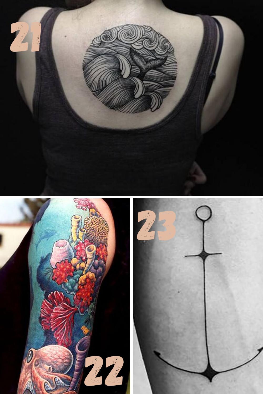Ocean Tattoo Ideas