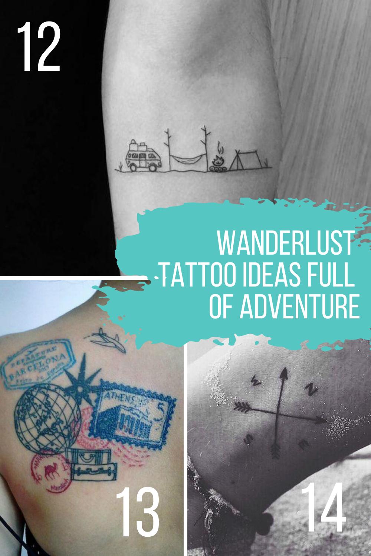 Wanderlust Tattoo Ideas