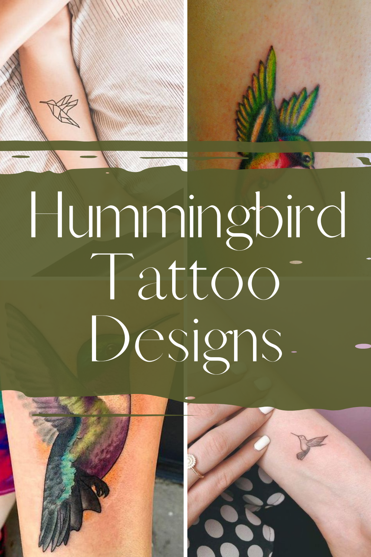 Hummingbird tattoos inspiration