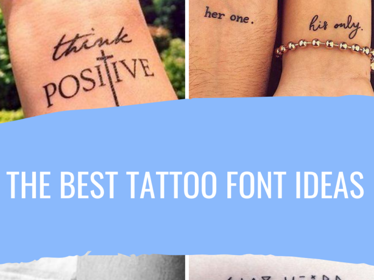 Best Tattoo Font Ideas