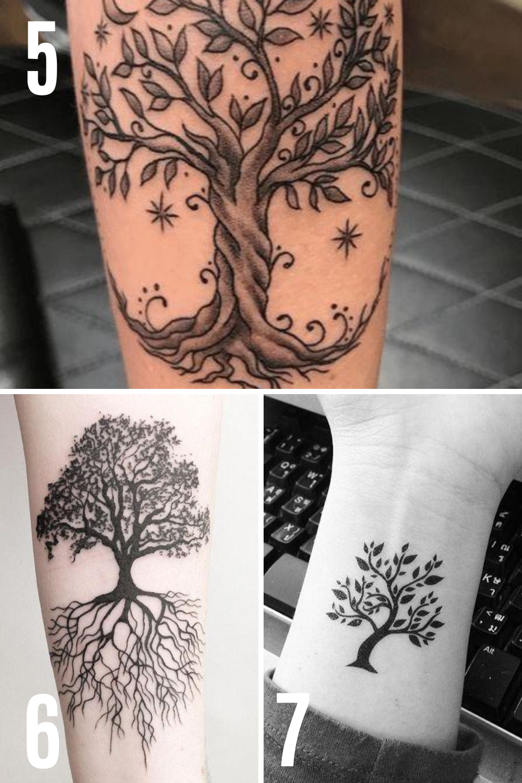 Tree Tattoo Ideas