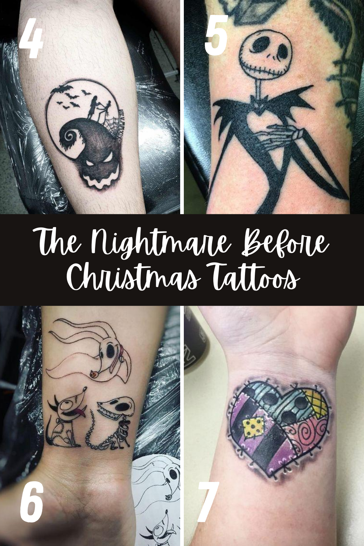 The Nightmare Before Christmas Tattoos