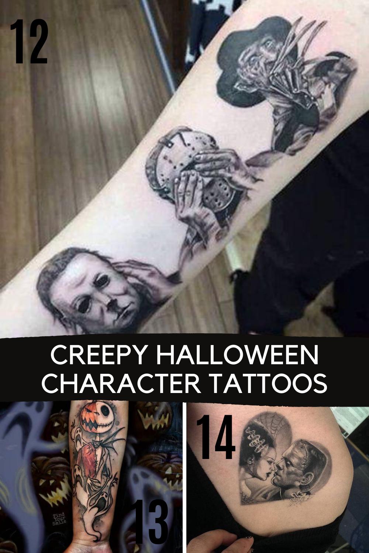 Halloween Character tattoos