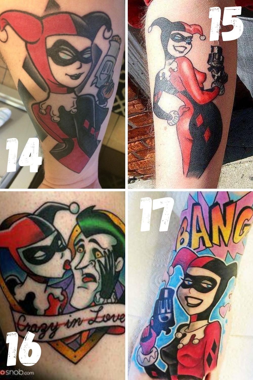 Harley Quinn Tattoo Ideas