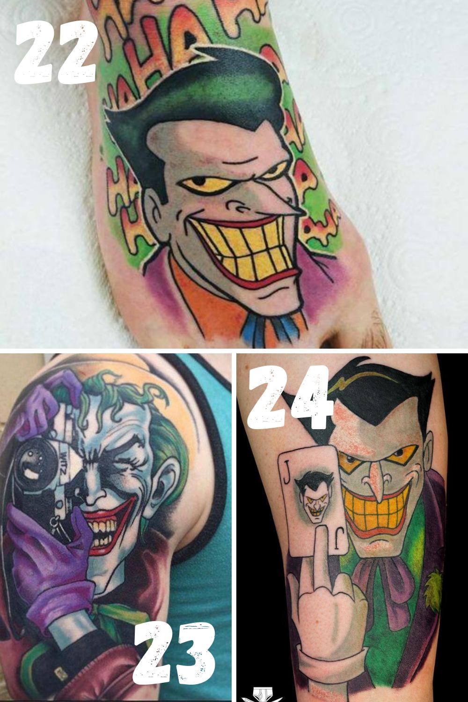 Joker Tattoo Ideas
