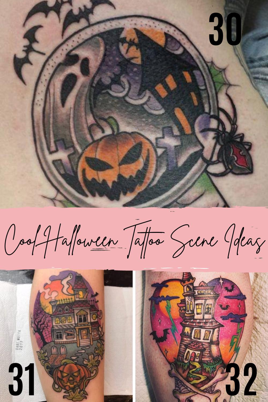 Spooky Tattoos