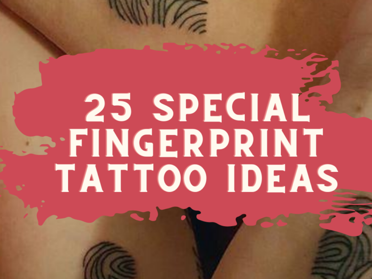 Fingerprint Tattoo Ideas