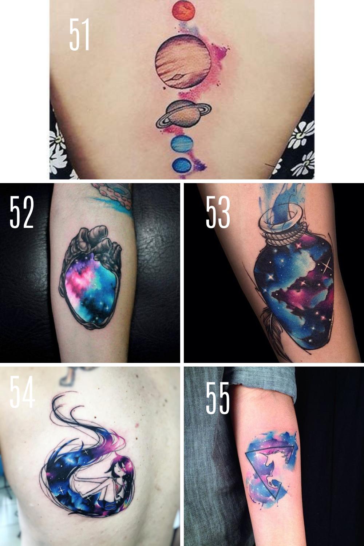 Galaxy Tattoo Ideas