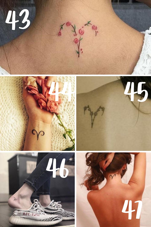 Aries Tattoo Ideas