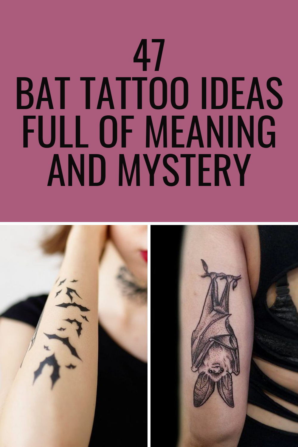 Bat Tattoo Ideas
