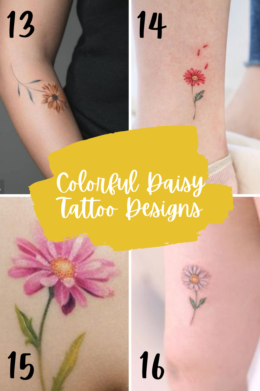 What is a daisy tattoo meaning
