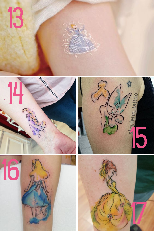 Disney Princess Ink
