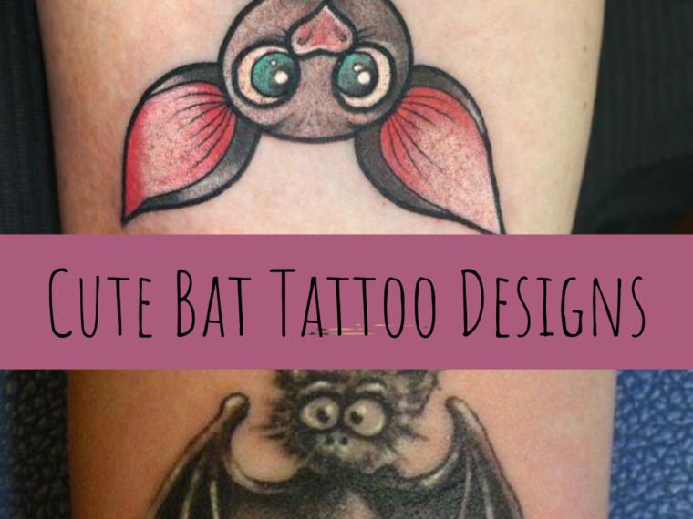 Cute Bat Tattoos