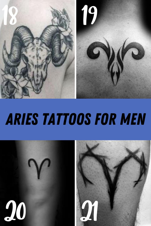 Aries Tattoo for Men