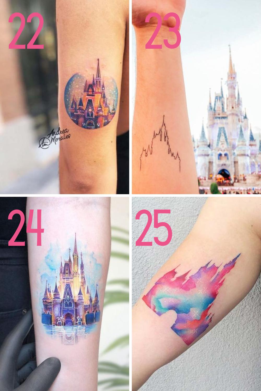 Cinderellas Castle Tattoo