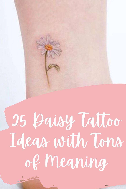 Daisy tattoo Ideas