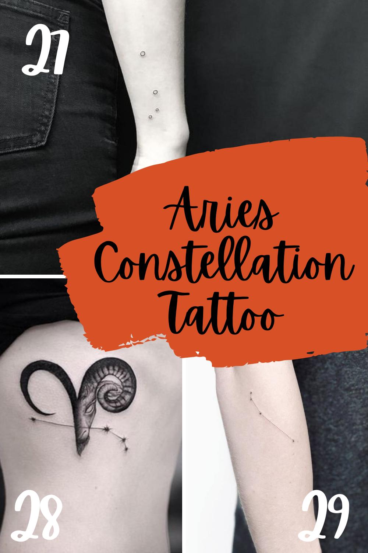 Areis constellation tattoo