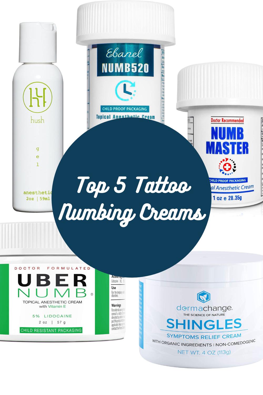 Top Tattoo Numbing Cream