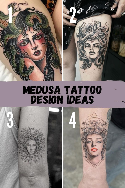 Medusa Tattoo Ideas