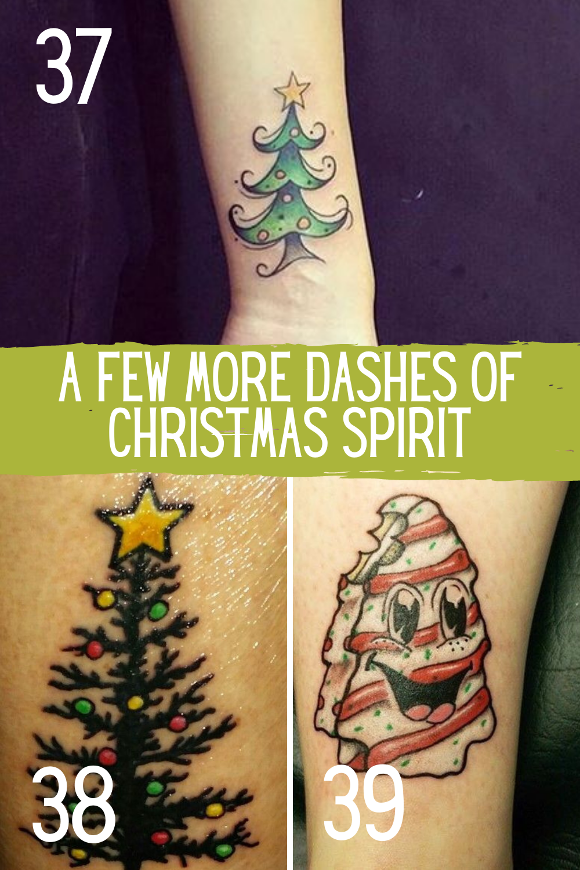 Cute Holiday Tattoos