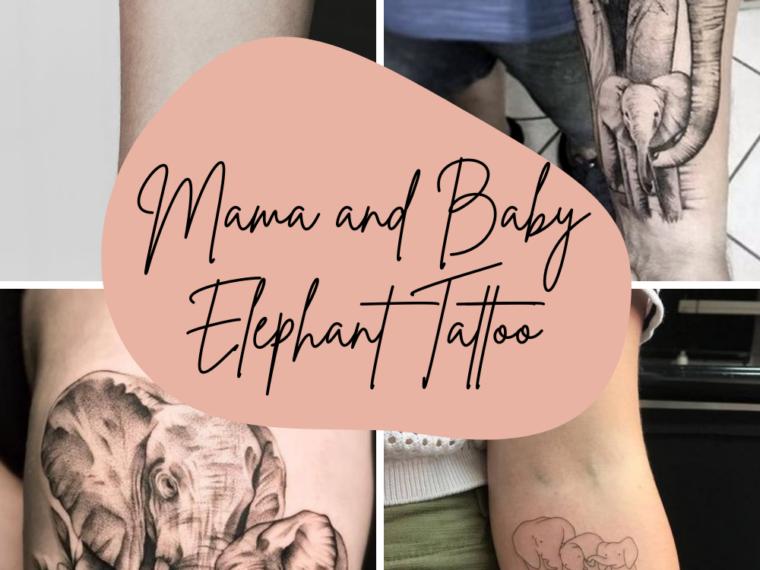 Mama and Baby Tattoo