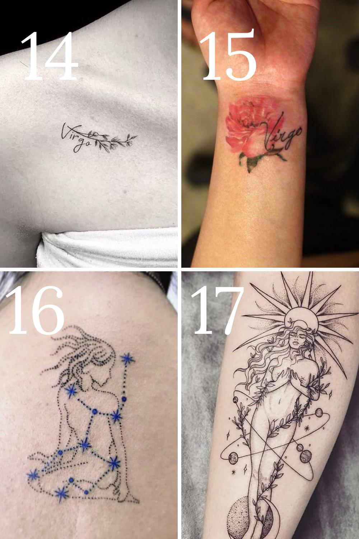 Virgo Tattoo Ideas