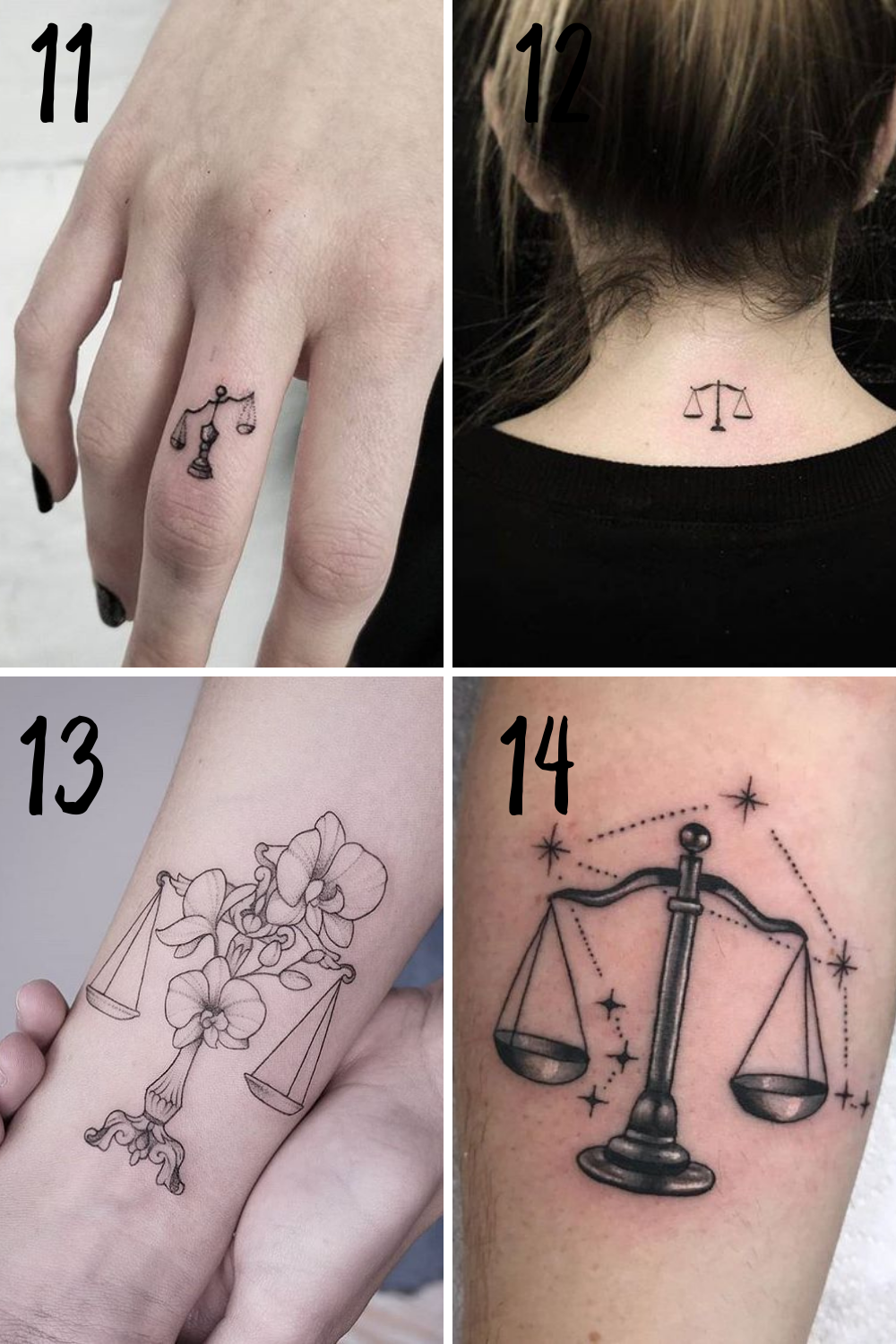 Scale tattoo